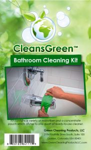 CleansGreen Bathroom Cleaning Kit Label