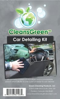 CleansGreen Car Detailing Kit