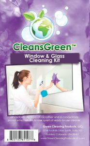 CleansGreen Window and Glass Cleanter