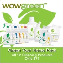wowgreen Products from Green Cleaning Products