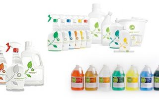Reduce Plastic with Natural Green Cleaning Products