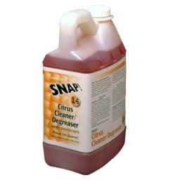 Green Cleaning Products offers SNAP Citrus Degreaser Cleaner