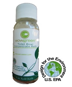 Green Cleaning Products offers WowGreen Toilet Bowl Concentrate Refill