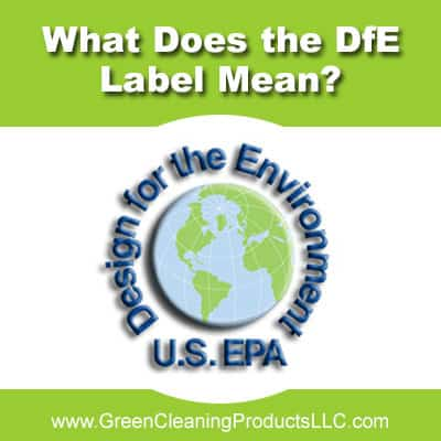 What Does The DfE Logo Mean - Green Cleaning Products