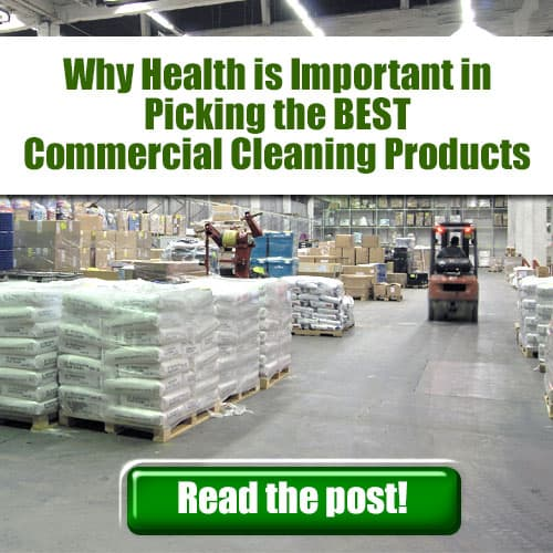 Picking the best green commercial cleaning products