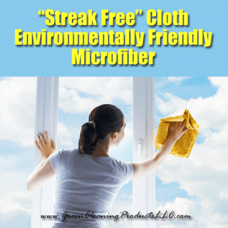 """Streak Free"" Microfiber Cloths 