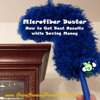Power Dusting with Microfiber Duster – How to Get the Best Results while Saving Money