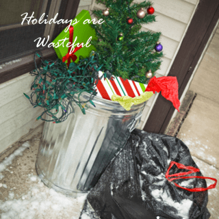 Why Green Christmas?  Holidays are Wasteful | Green Cleaning Products Explains