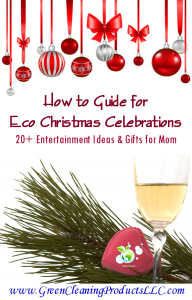 Green Christmas - How to Guide for Eco Celebrations from Green Cleaning Products