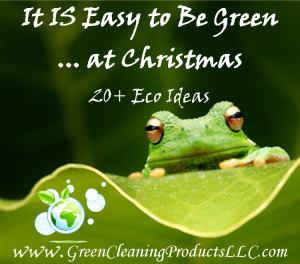 Green Christmas - It is Easy to Be Green