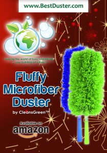 CleansGreen Fluffy Microfiber Duster from Green Cleaning Products LLC