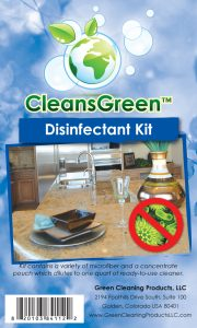 CleansGreen Disinfectant Kit from Green Cleaning Products