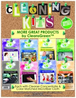 CleansGreen Cleaning Kits