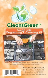 CleansGreen Tough Job Degreasing & Cleaning Kit from Green Cleaning Products LLC