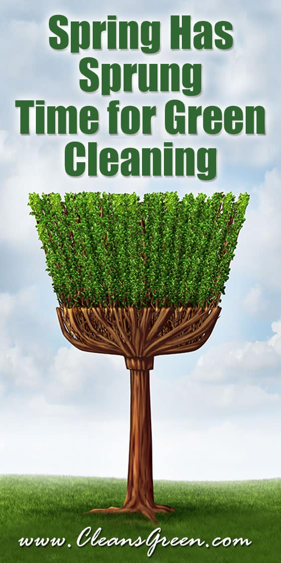 Spring Has Sprung | Time for Green Cleaning ... Spring – it is a time for renewal, whether it is green cleaning or landscaping.  In each case it is out with the old and in with the new.  Perhaps this year you will choose to add green cleaning products for your home or office.   It happens every year like clockwork and so many of us anxiously look forward to the time when we can select something new.