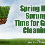 Spring Has Sprung | Time for Green Cleaning