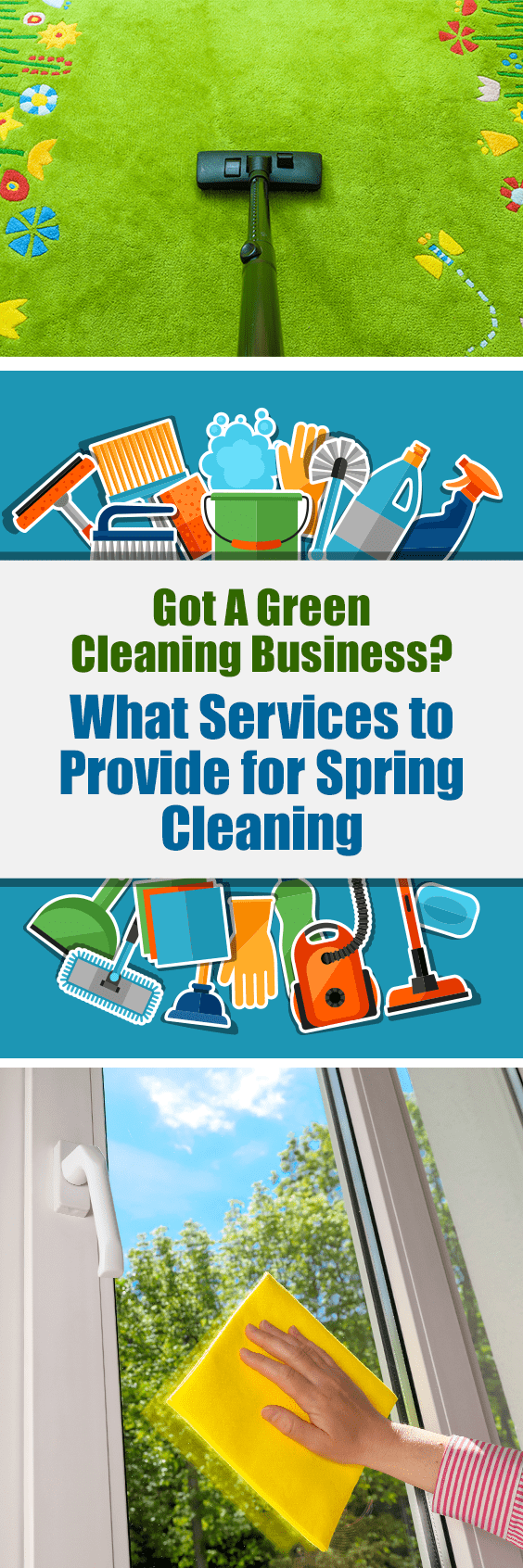 Got a Green Cleaning Business | What Services to Provide for Spring Cleaning ...  Finally spring has arrived!  Cabin fever has been driving us crazy.  This is the time of year we are energized to dust ourselves off and break out of hibernation.  This is also the time when your customers are seeking a good spring cleaning with perhaps a renewed desire to embark on a green cleaning regime.