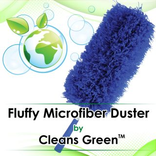 The Fluffy Car Microfiber Duster For Interiors and Dashboards