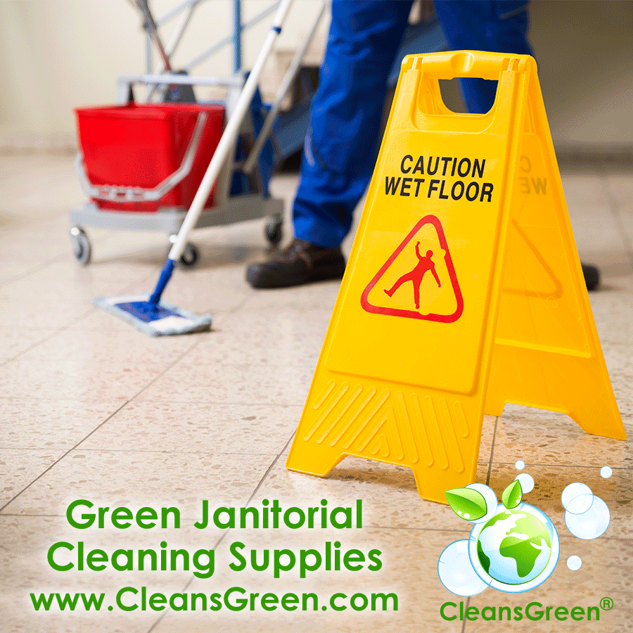 Green Janitorial Cleaning Supplies | Green Commercial Cleaning