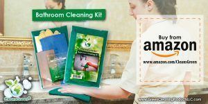 CleansGreen Bathroom Cleaning Kit from Green Cleaning Products LLC