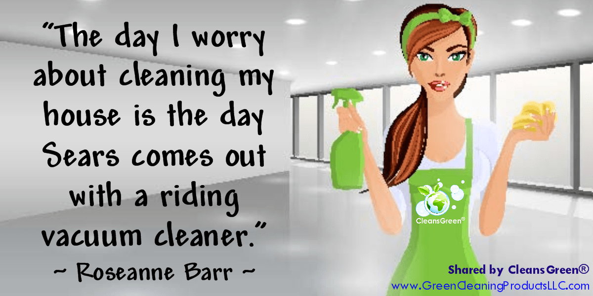 Roseanne Barr Quotes: The day I worry about cleaning my house is the day Sears comes out with a riding vacuum cleaner