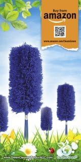 Fluffy Microfiber Duster by CleansGreen