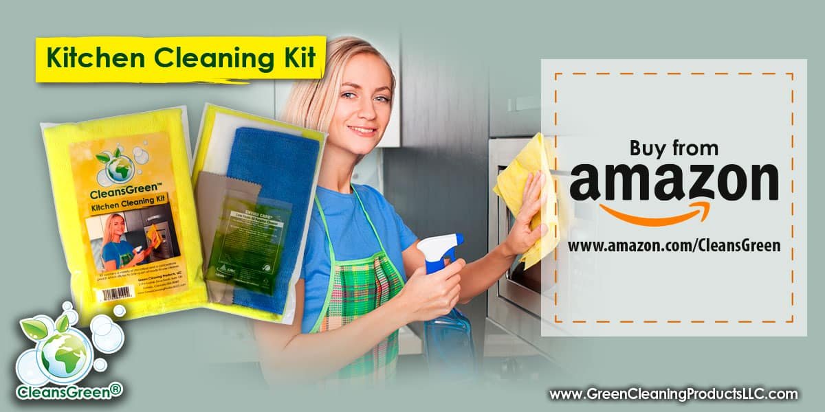 CleansGreen Kitchen Cleaning Kit from Green Cleaning Products LLC
