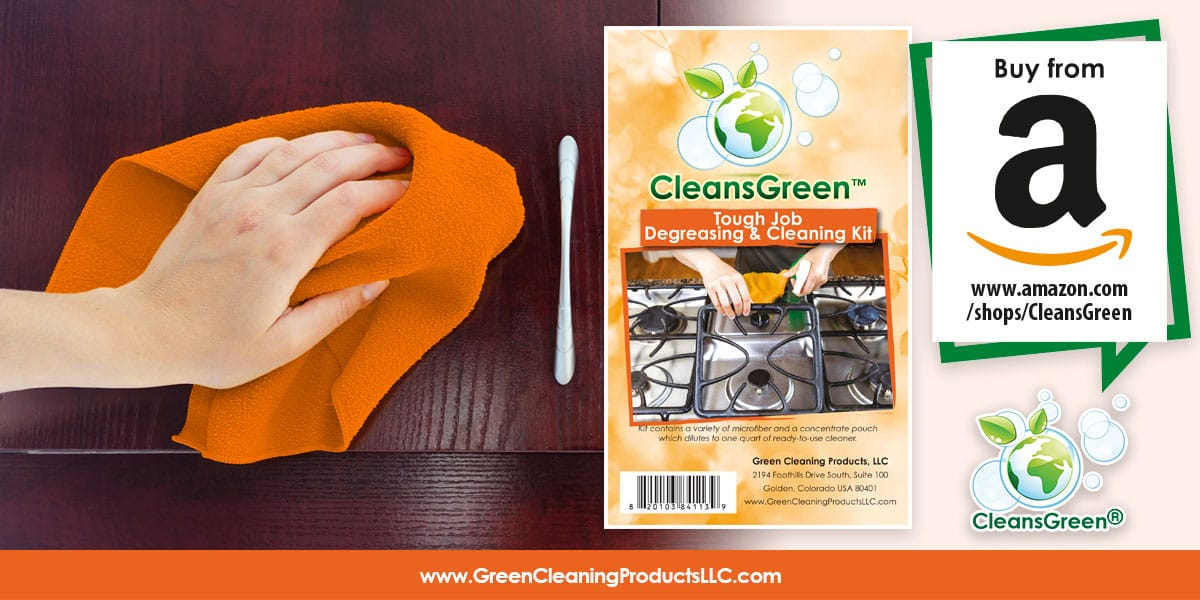 CleansGreen Tough Job Degreasing and Cleaning Kit from Green Cleaning Products LLC