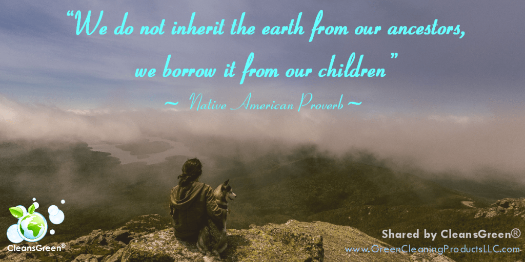 We do not inherit the Earth from our ancestors—we borrow it from our children. #quote #earth