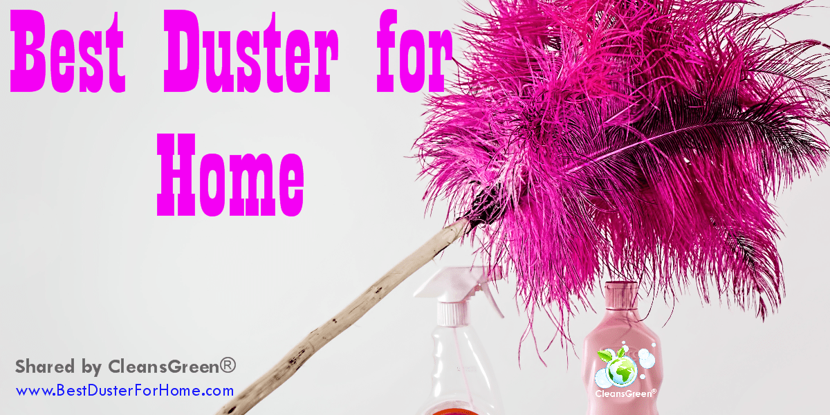 Best Duster For Home   Quick Review by CleansGreen®Common in the home are many items (such as furniture, baseboards, and our treasures) that call for dusting, especially when the windows are open to the outside. Knowing the vast variety of dust sources helps one to determine the best duster for home use.