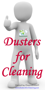 "There is a wide selection of cleaning tools called ""dusters"" that are available for the discerning cleaner.  Depending on the customized application will help to determine which duster is right for them."