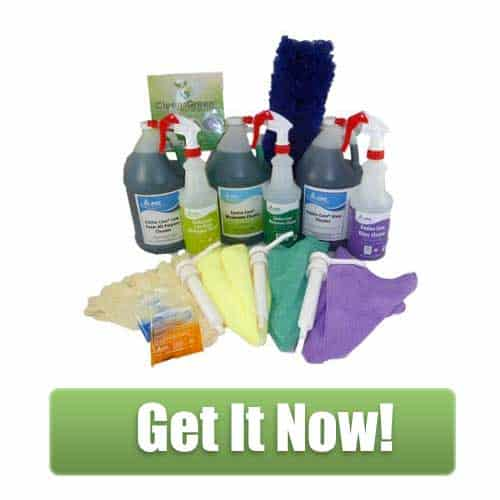 CleansGreen Green Cleaning Company Startup Kit