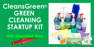 CleansGreen Green Cleaning Startup Kit