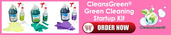CleansGreen Green Cleaning Startup Kit - Order Now