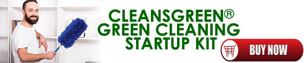 Cleans Green - Green Cleaning Startup Kit for Cleaning Companies #greenbusiness