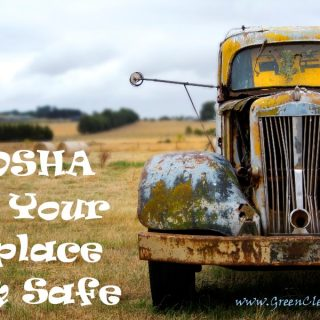 How OSHA Keeps Your Workplace Clean and Safe | Summarized by CleansGreen®
