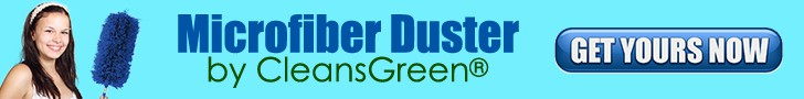 CleansGreen Microfiber Duster