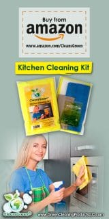 Green Kitchen Cleaning Kit from CleansGreen