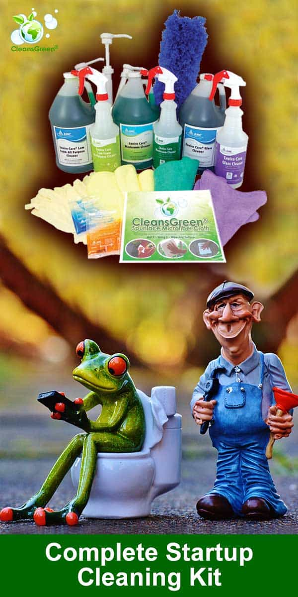 CleansGreen on Amazon - Green Cleaning Products