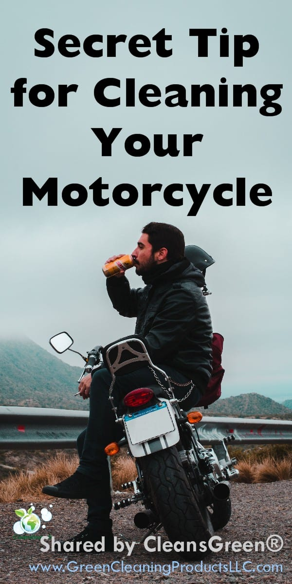 Looking for a secret tip to clean your beloved motorcycle (or pickup truck)?  As an enthusiast of fine motor vehicles the mud, dirt and debris is unsightly.