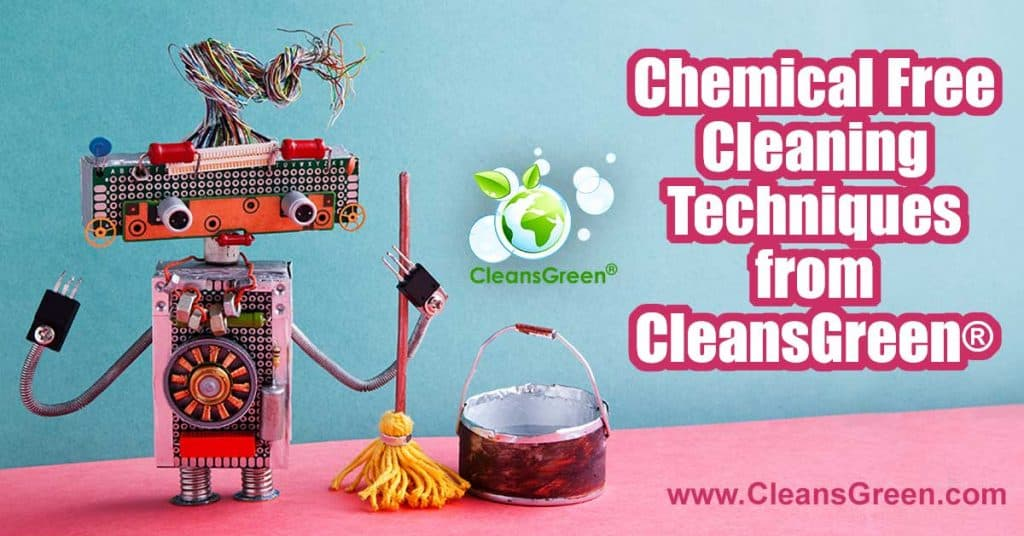 Chemical Free Cleaning Techniques from CleansGreen.... Cancer, Migraines, Fibromyalgia, Autism, Asthma, Reproductive Dysfunction, Chronic Fatigue Syndrome, are some of the illnesses that have in some form of other been potentially linked to excessive exposure to chemicals.  All the more reason to seek chemical free cleaning solutions.