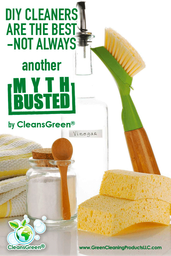 DIY Cleaners are Not Always The Best... Despite our best intentions, this is NOT ALWAYS the case. This is not about bashing on natural or homemade, do-it-yourself (DIY) cleaning products.  Nor are we throwing our support behind the traditional harsh, commercial cleaners.